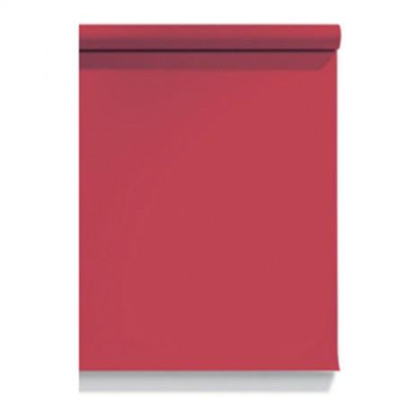 Бумажный фон красный 1м