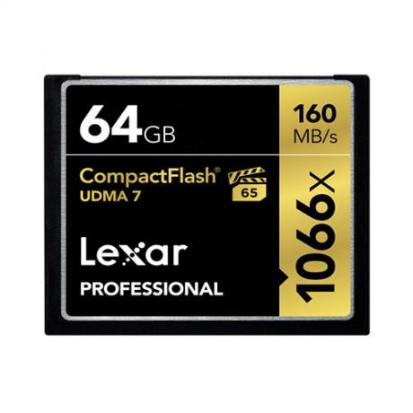 Карта памяти Lexar Professional CompactFlash 64GB 160MB/s