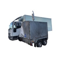 Light base with 70 kW Iveco generator