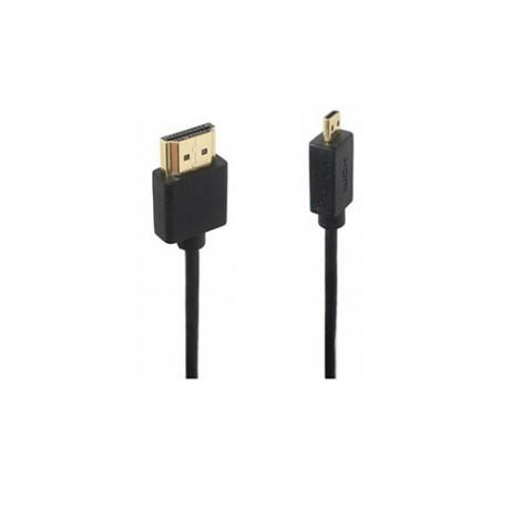Cable Micro HDMI-HDMI 0.6m thin