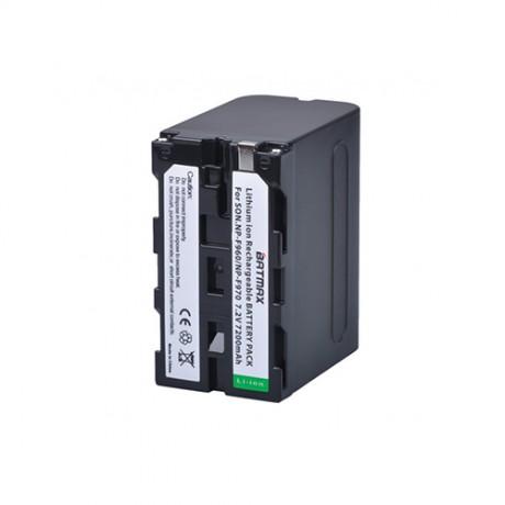 Battery Batmax NP-F960 7200mAh for rent