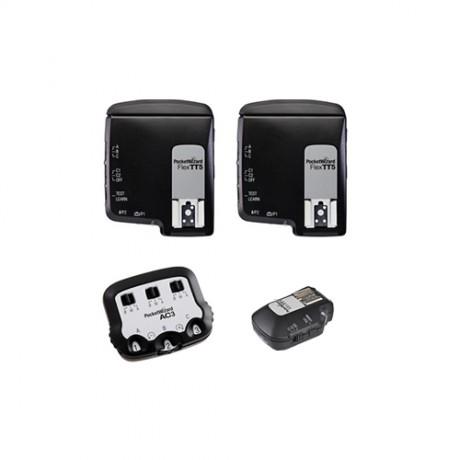 PocketWizard FlexTT5 + MiniTT1 + AC3 для Canon kit 2
