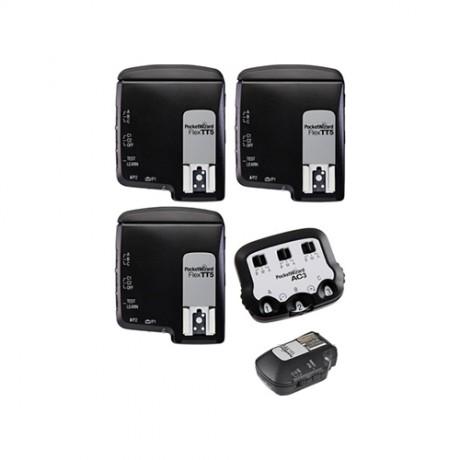 PocketWizard FlexTT5+MiniTT1+AC3 для Canon kit 3
