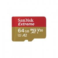 MicroSDXC 64GB SanDisk Extreme UHS-I/U3 90MB/s
