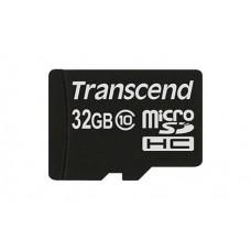 MicroSDHC 32GB Transcend Class 10 20MB/s