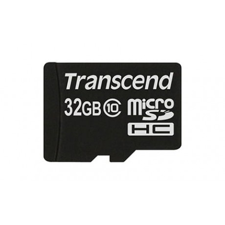 MicroSDHC 32GB Transcend Class 10 20MB/s for rent